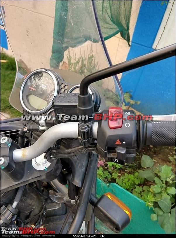 2020 Royal Enfield Himalayan Spied