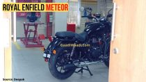 2020 Royal Enfield Meteor Spied