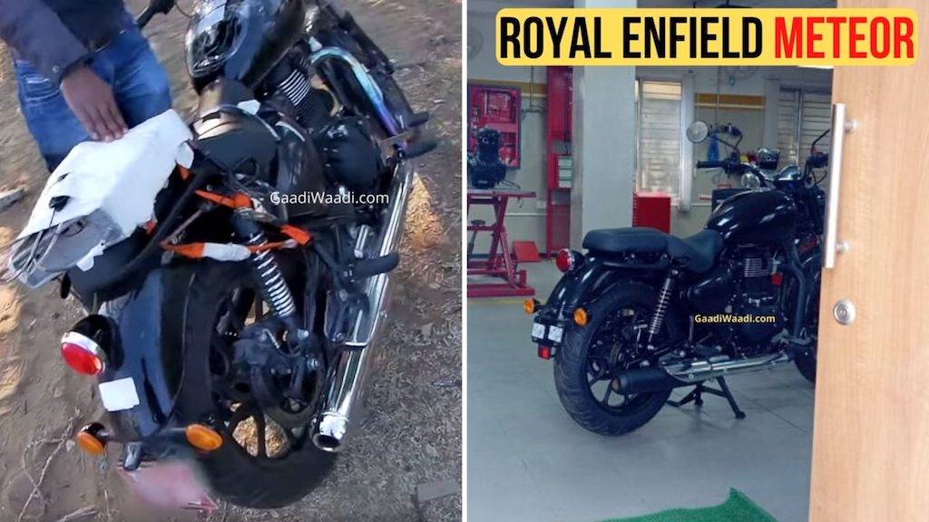 2020 Royal Enfield Meteor Spotted Undisguised