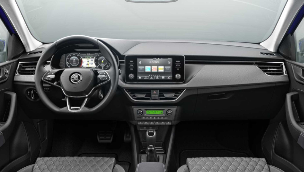 2020 Skoda Rapid Dashboard