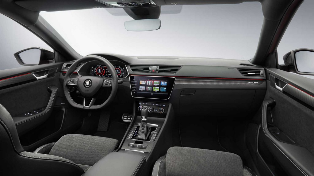 2020 Skoda Superb Facelift Interiors