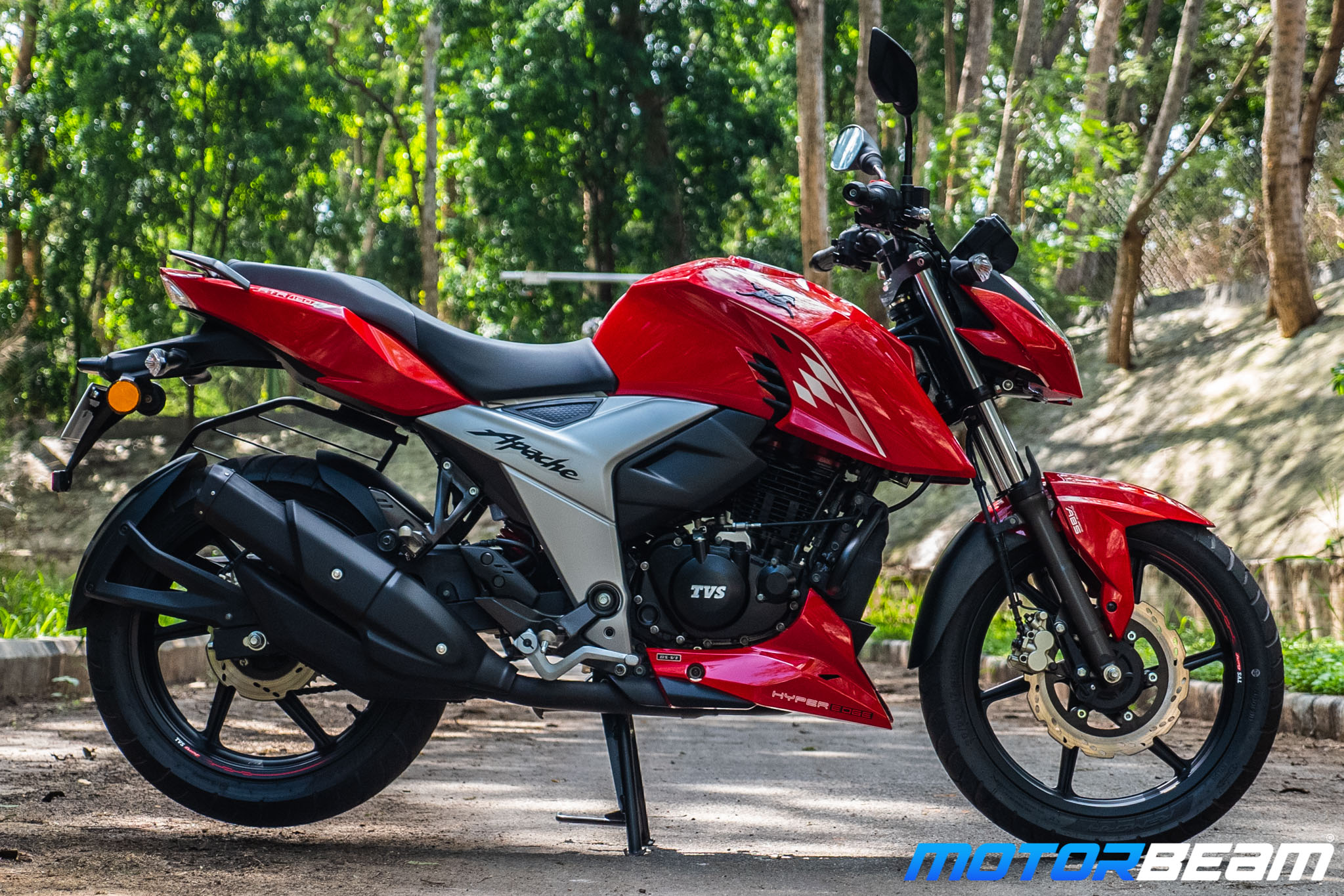 2020 TVS Apache 160 4V Review Right