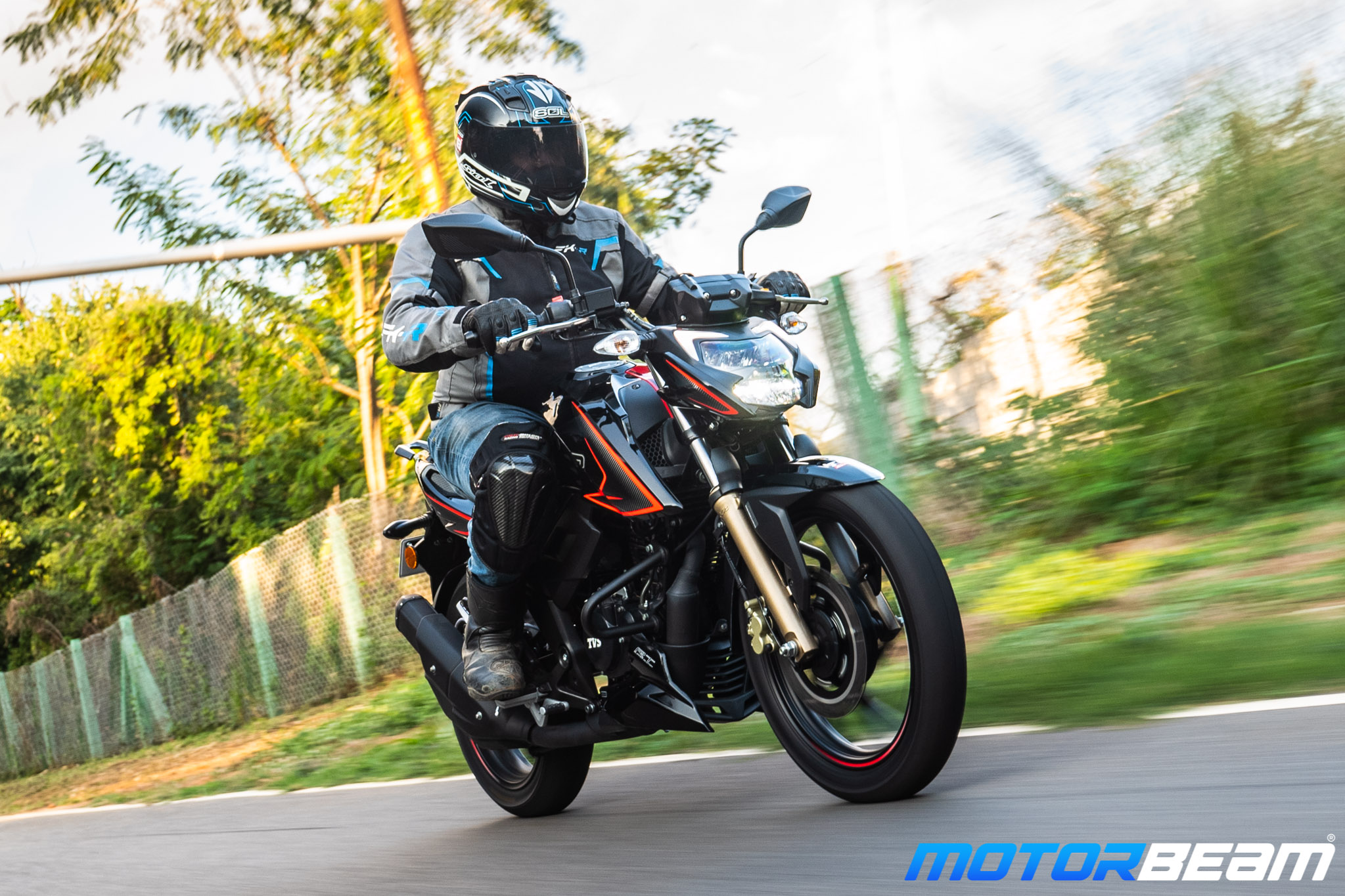 2020 TVS Apache 200 Review Riding Comfort