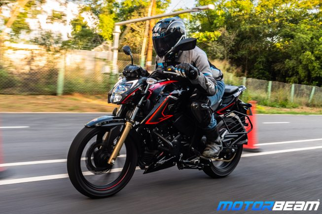 2020 TVS Apache 200 Review Riding Dynamics