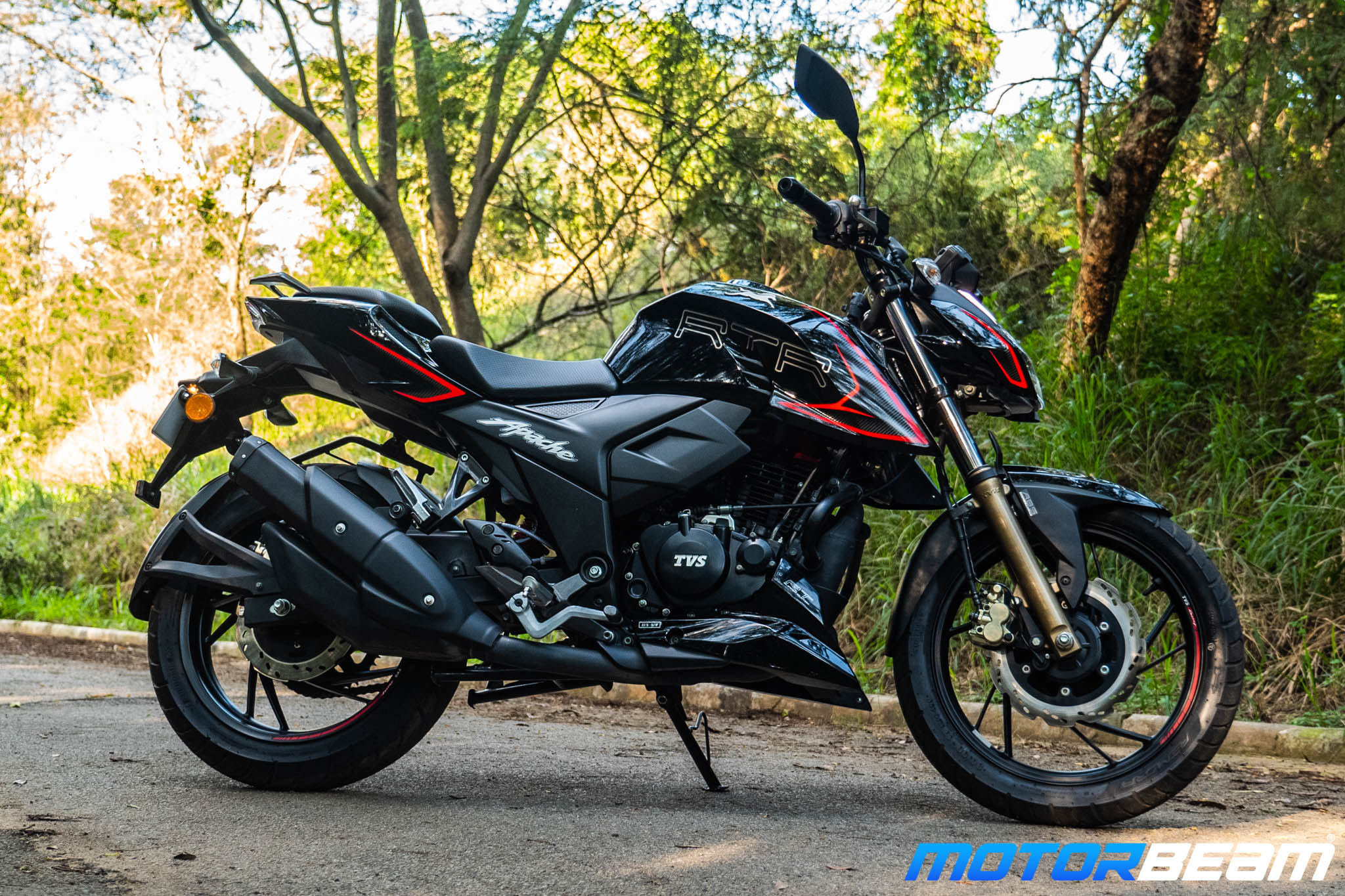 2020 TVS Apache 200 Review Styling