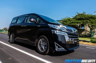 2020 Toyota Vellfire Review Test Drive