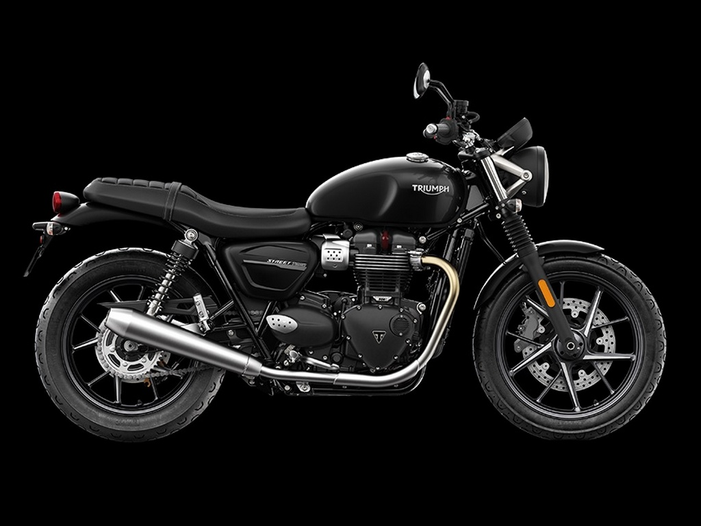 2020 Triumph Street Twin Side