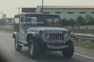 Mahindra Launches Thar In India