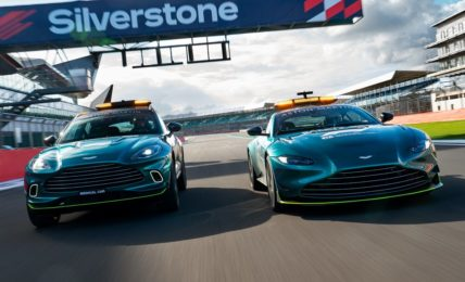 2021 Aston Martin F1 Safety And Medical Cars