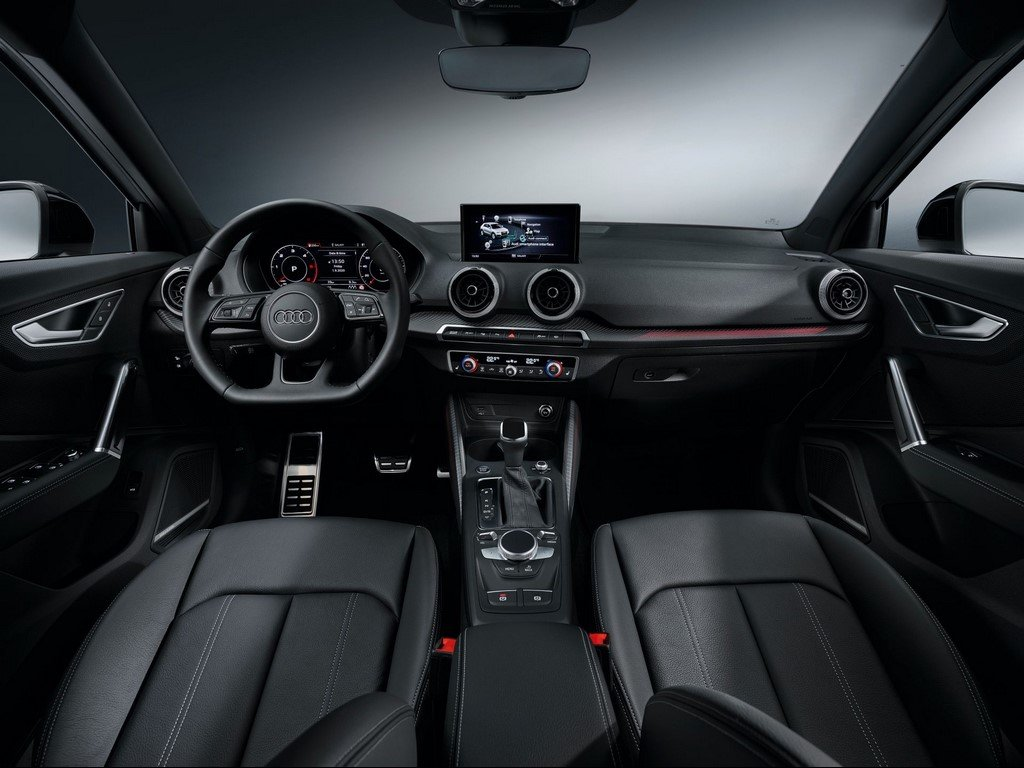 2021 Audi Q2 Facelift Dashboard