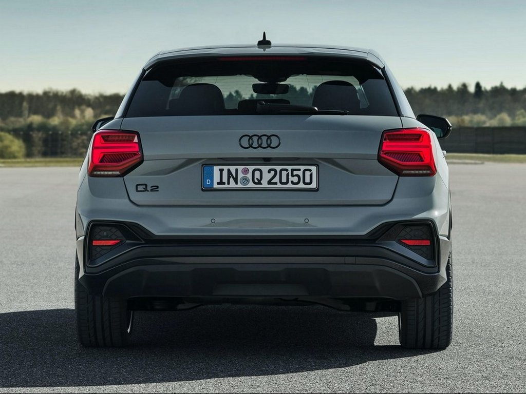 2021 Audi Q2 Facelift Rear