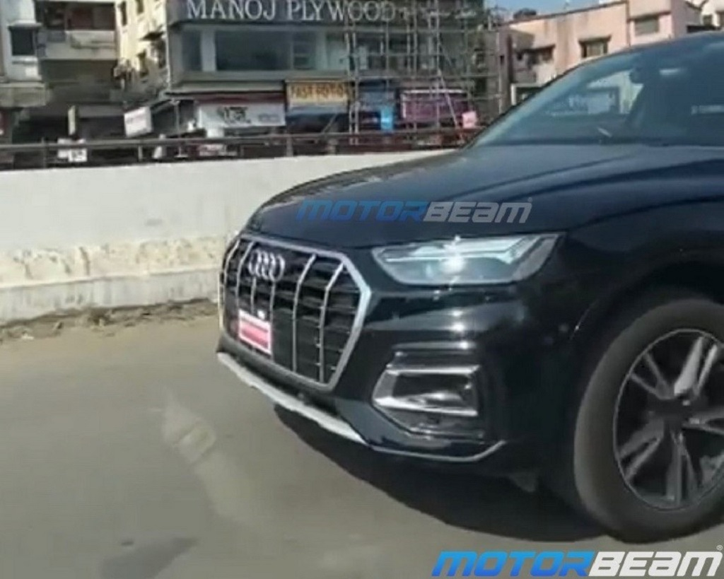 2021 Audi Q5 Facelift Spotted