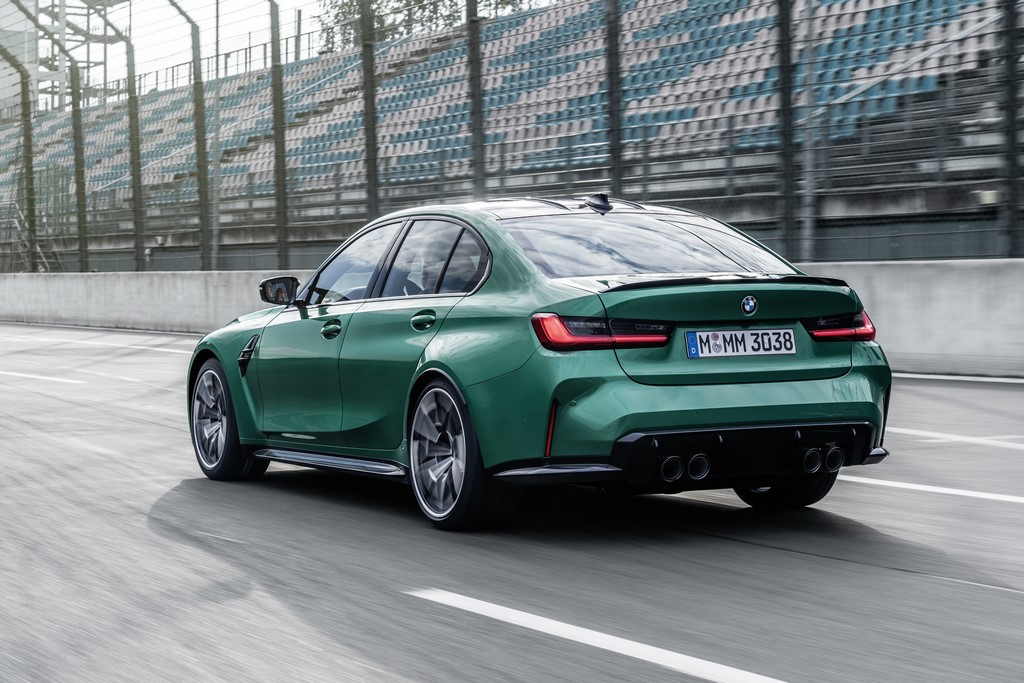 2021 BMW M3 Competition Rear