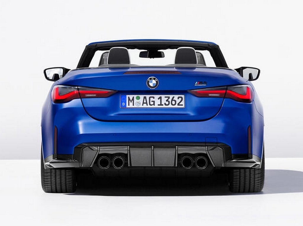 2021 BMW M4 Competition Convertible Rear