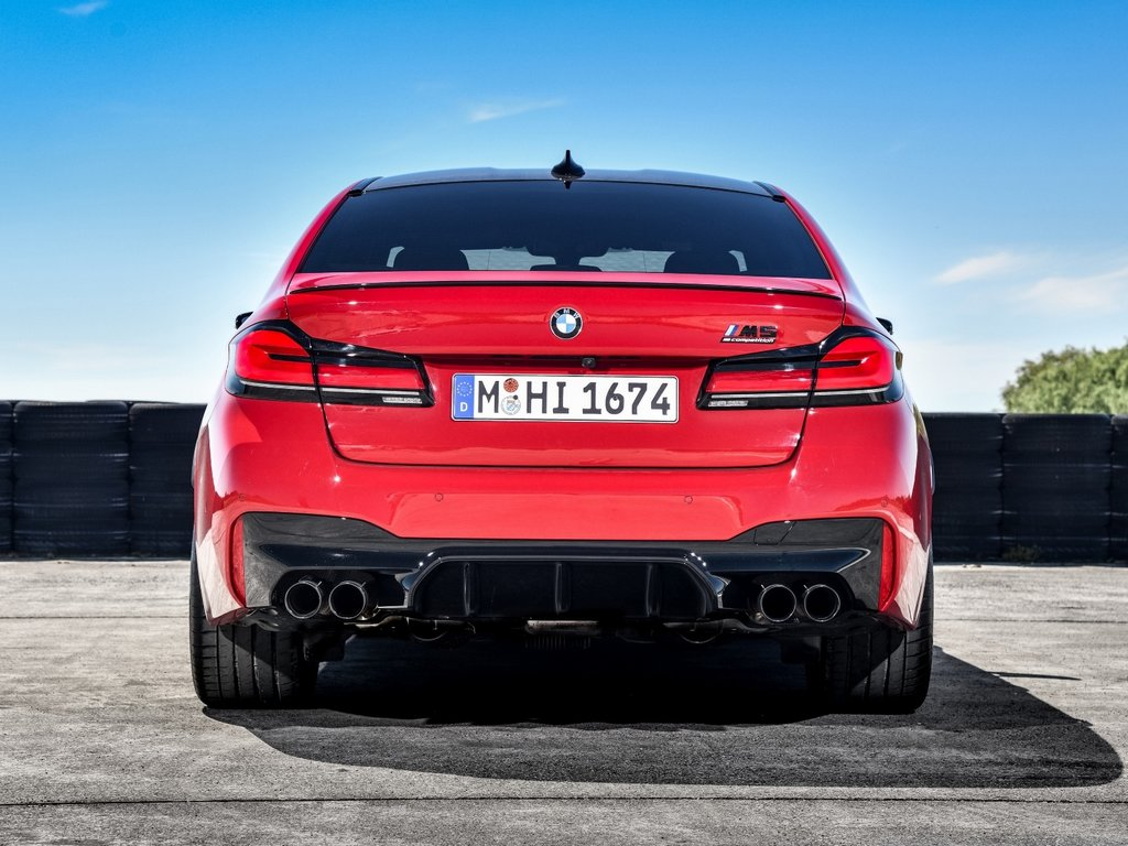 2021 BMW M5 Competition Rear