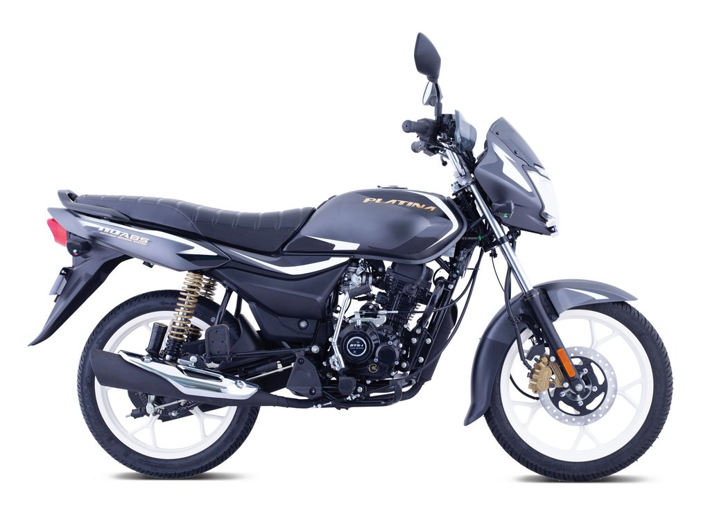 2021 Bajaj Platina 110 ABS Side