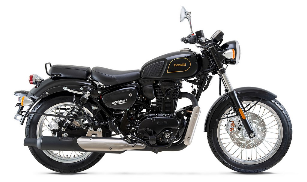 2021 Benelli Imperiale 400 Side