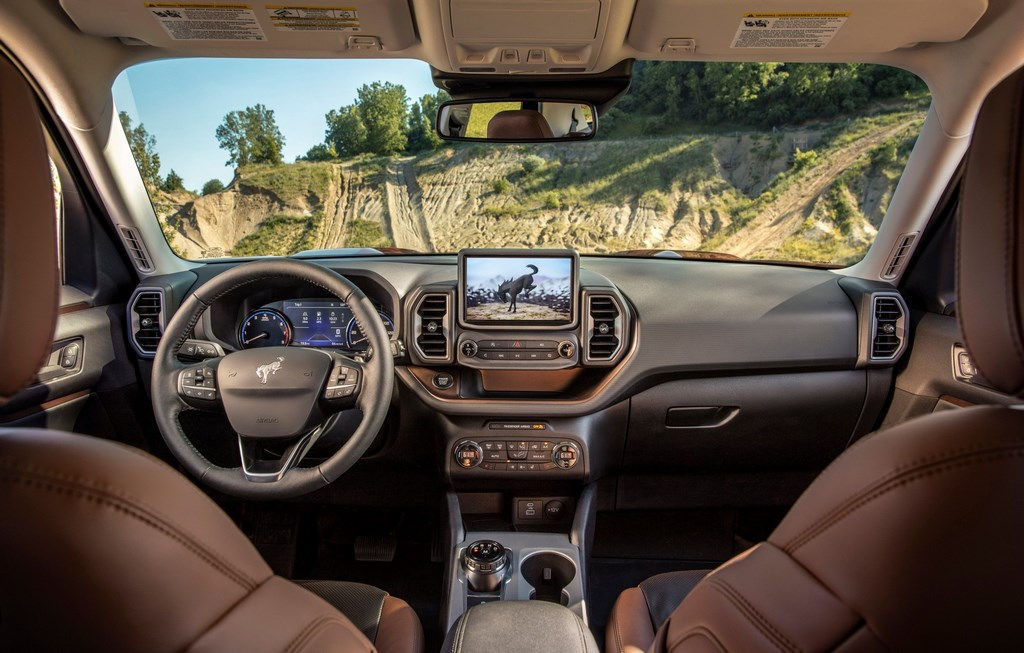 2021 Ford Bronco Dashboard