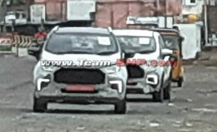 2021 Ford EcoSport Facelift Spied