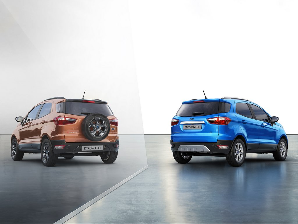 2021 Ford EcoSport S And EcoSport SE