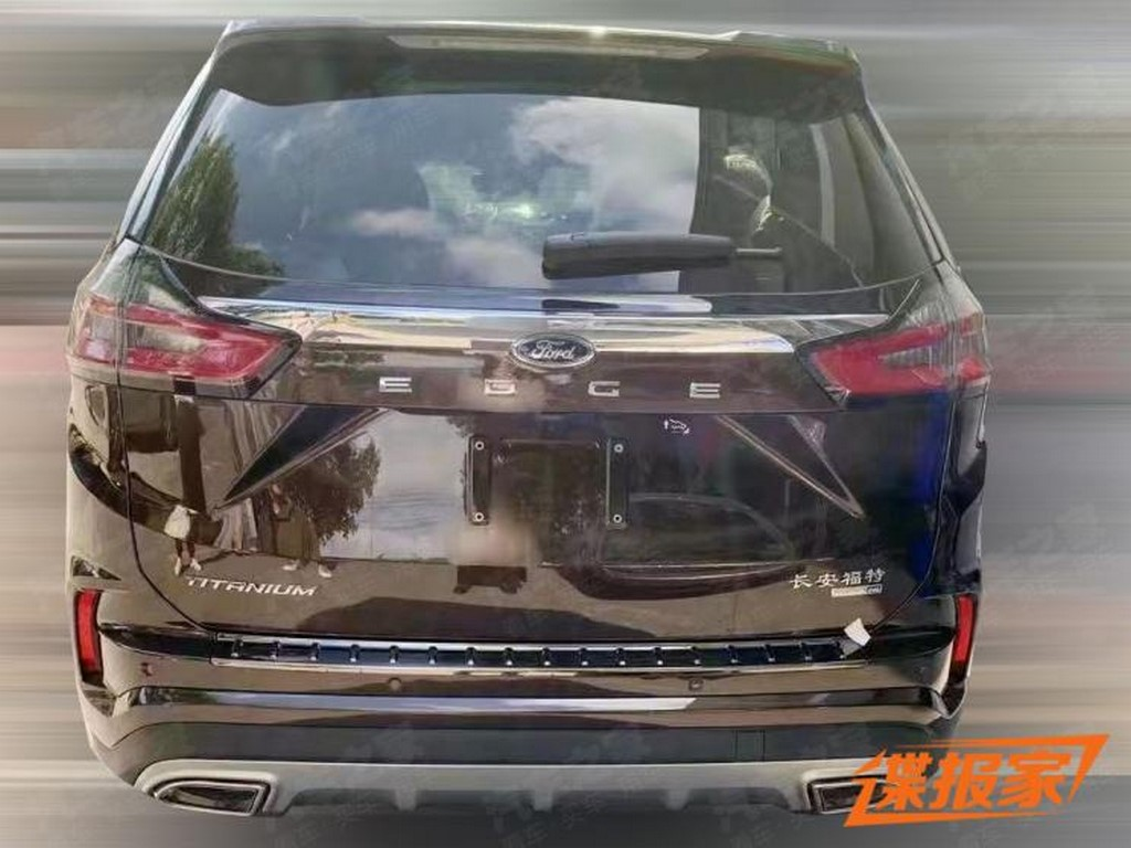 2021 Ford Edge Rear