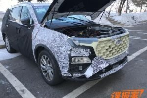 2021 Ford Endeavour Spied