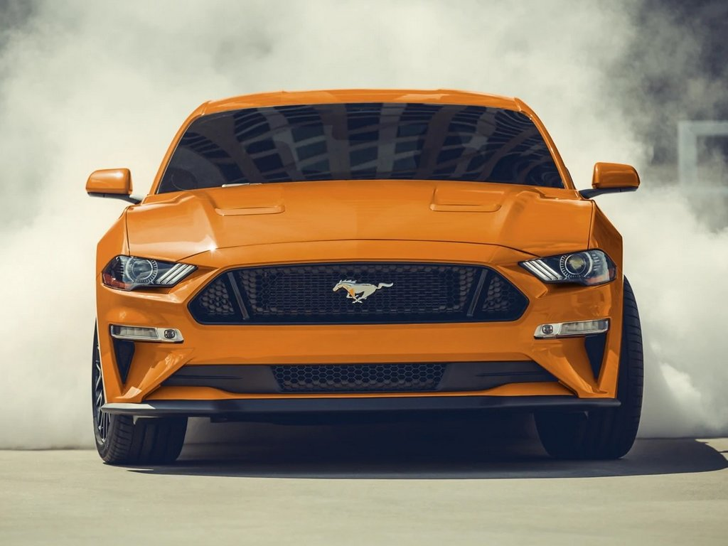 2021 Ford Mustang Facelift Front