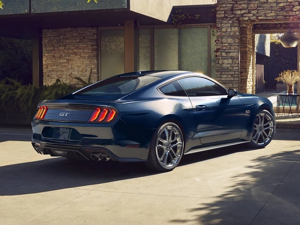 2021 Ford Mustang Facelift Rear