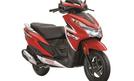 2021 Honda Grazia Sports Edition Sports Red