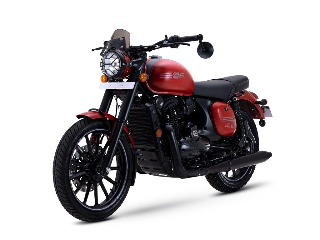 2021 Jawa Forty Two Orion Red