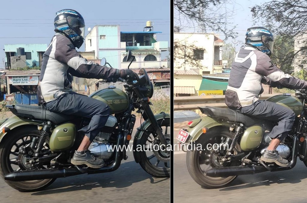 2021 Jawa Forty Two Spied