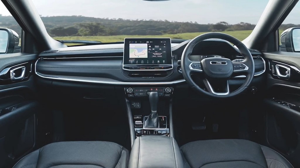 2021 Jeep Compass Facelift Dashboard