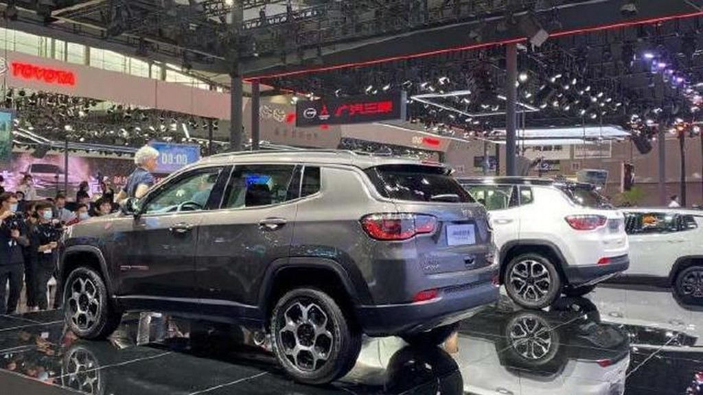 2021 Jeep Compass Facelift Rear