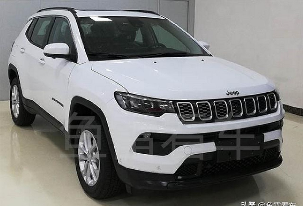 2021 Jeep Compass Facelift Spotted