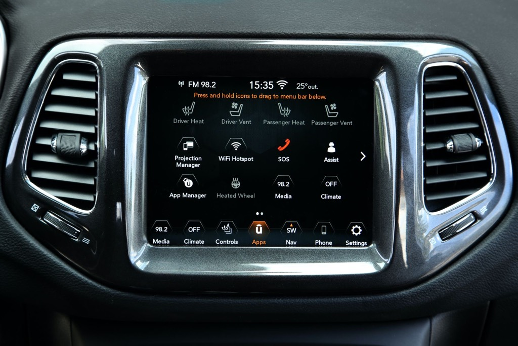 2021 Jeep Compass Infotainment