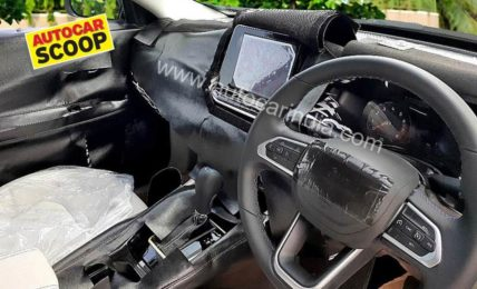 2021 Jeep Compass Interior Spied