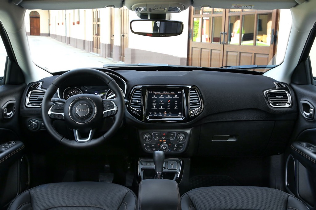 2021 Jeep Compass Interior