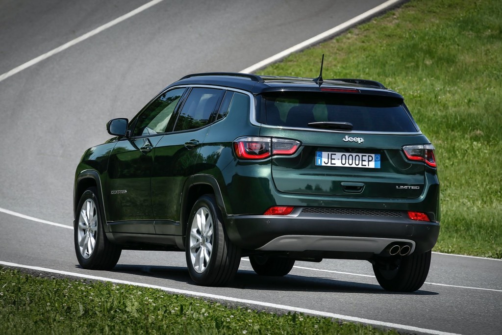 2021 Jeep Compass Rear