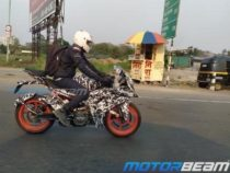 2021 KTM RC 200 Spotted