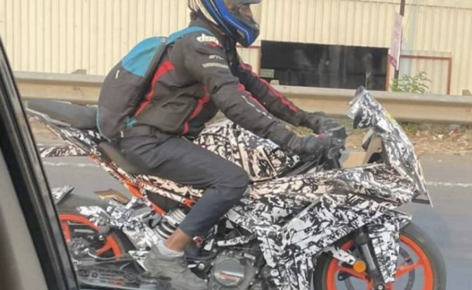 2021 KTM RC 200 Spotted Side