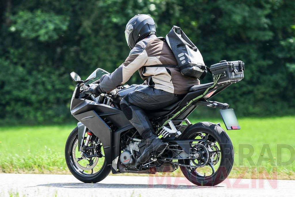 2021 Ktm Rc 390 Spied While On Test In Europe Gets Several Changes