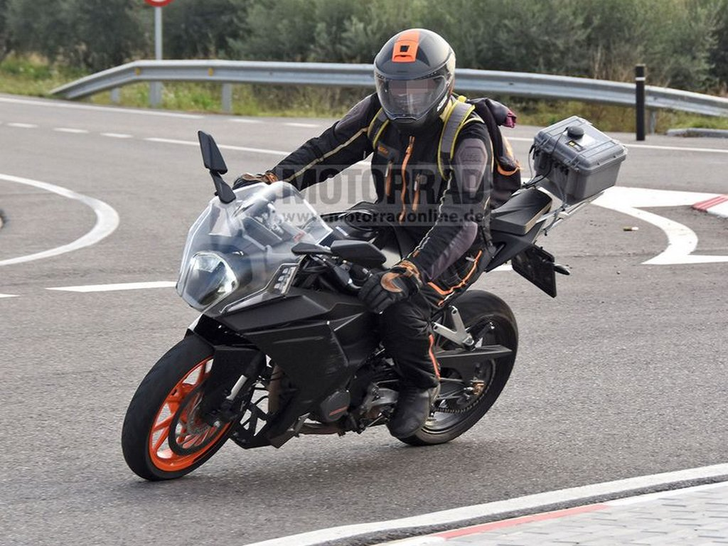2021 KTM RC 390 Spotted