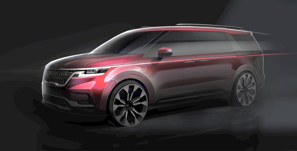 Next-Gen 2021 Kia Carnival Teased Ahead Of Launch This Quarter