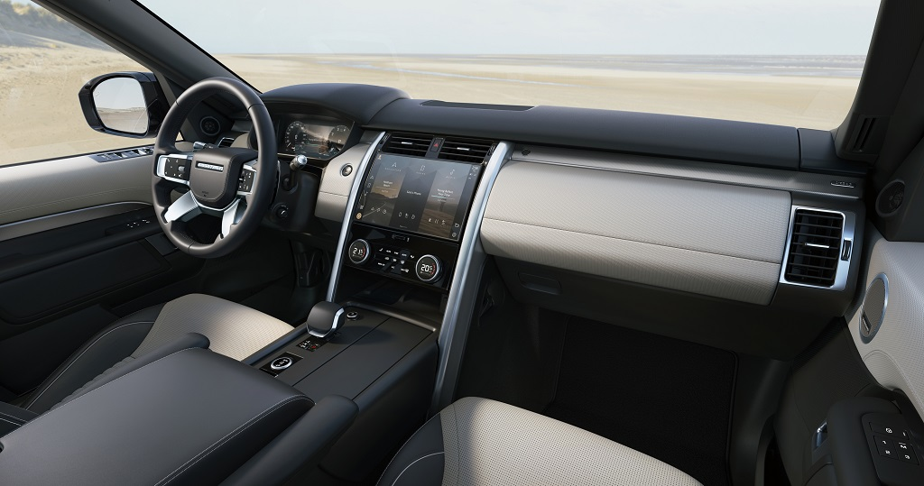 2021 Land Rover Discovery Dashboard