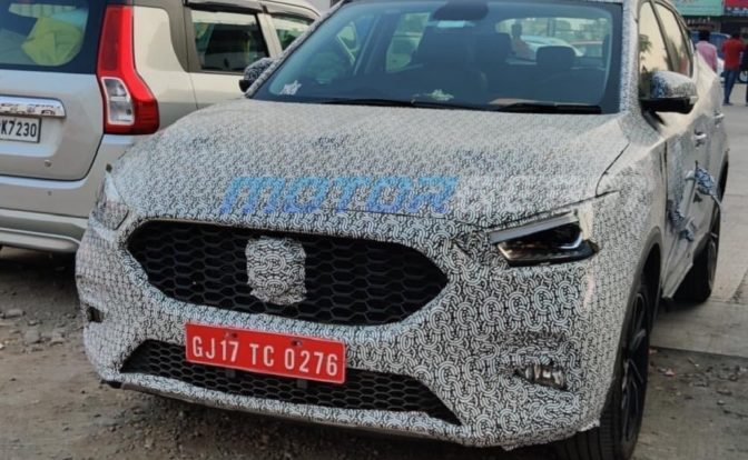 2021 MG ZS Petrol Spotted