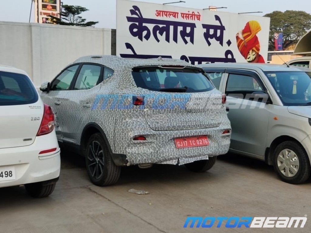 2021 MG ZS Petrol Spotted Rear