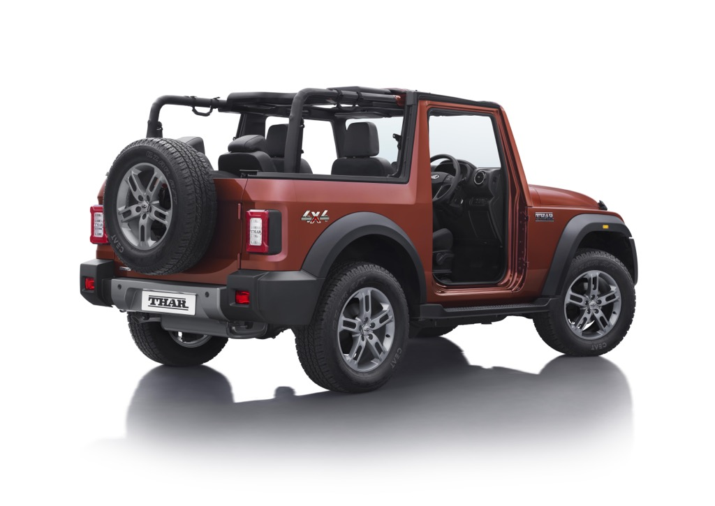 2021 Mahindra Thar Convertible Rear