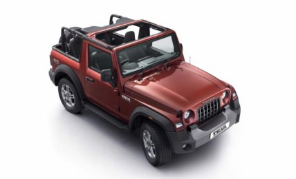 2021 Mahindra Thar Convertible Top