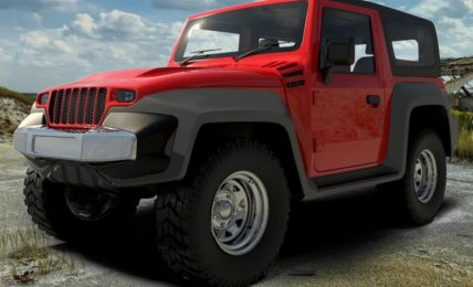 2021 Mahindra Thar DC2 Body Kit