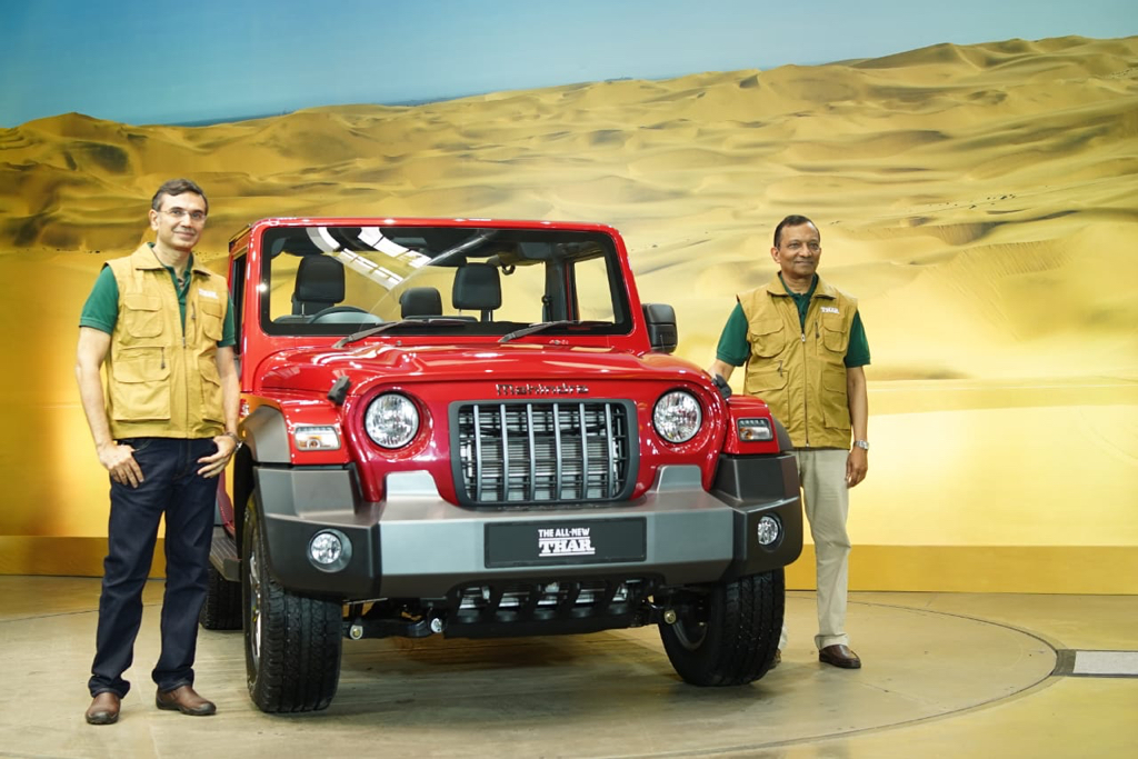 2021 Mahindra Thar Launch